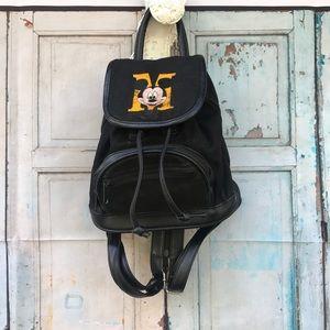 Vintage mini Mickey backpack